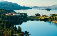 Argentina - The Top Ten Luxury Hotels - - Llao Llao Hotel and Resort Golf Spa in San Carlos de Bariloche Leading Hotels, In Patagonia, Hotels And Resorts, Luxury Hotels, Luxury Travel, Wonderful Places, South America, Places To Visit, Golf