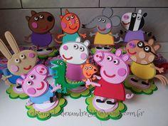 Peppa Pig e Turminha | by * * * e.v.a. é meu VÍCIO* * *