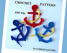 Baby Stroller Applique Crochet PATTERN PDF by GoldenLucyCrafts