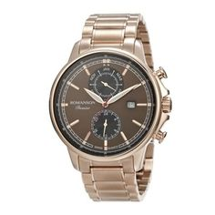 Price Rs.13,251.50/- Buy #Romanson #Brown #Watch for Men Online in India