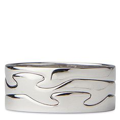 Georg Jensen Fusion Solo ring. £915 18ct white gold. Perfection.