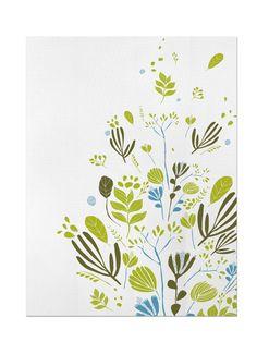 Amazon.com: Studio Oh Leah Duncan Dish Towel, Sea Grass: Kitchen & Dining