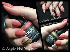"""Created this awesome set of coffin nails recently and was very please with the final product. Main colour used """"In Love or Lust"""", pinkie is """"Posh"""" and feature nail uses both plus """"Gorgeous"""" and """"Swag"""" ❤️ CJ Coffin Nails, Gel Nails, Nail Polish, Hard Nails, Painted Nail Art, Love And Lust, Gel Nail Designs, Main Colors, Swag Nails"""