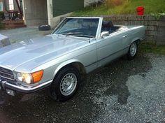 Mercedes-Benz SL 450 SL  1973, 84000 km, kr 60000,- -