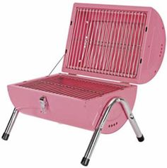 pink bbq grill. Every Glamper needs this.
