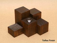 Pantalla vertical del anillo / Mini vertical madera por USAVECO