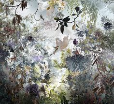 These beautiful and delicate photographic collages are the inspirational work of Ysabel LeMay. LeMay lives in Naples, Florida where she finds the tranquili