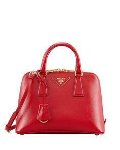 Prada Saffiano Vernice Promenade Crossbody Bag Red Neiman Marcus Replica Handbags Purses And