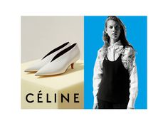 The latest ad campaign for Celine is here and it features a few iconic bags from the Pre-fall 2015 Collection: the Trotteur Shoulder bag and the Belt tote Shoes Editorial, Editorial Fashion, Fashion Advertising, Advertising Campaign, Celine Campaign, Logos Retro, Art Partner, Shoes Ads, Phoebe Philo