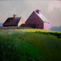 September By Barn Light by Paul Stone