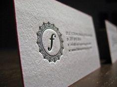 55 Brilliant Letterpress Business Cards - You The Designer