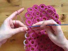鉤針編織包包 圈圈包包(款式3)