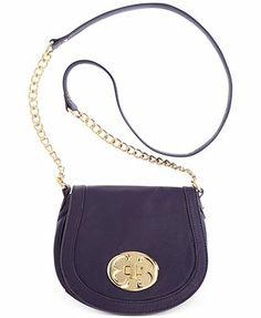 Emma Fox Handbags, Classics Leather Flap Crossbody