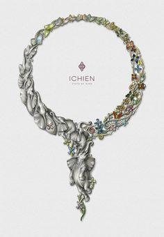 "Эскиз колье ""Лакшми"" https://www.facebook.com/ichien.jewellery/"
