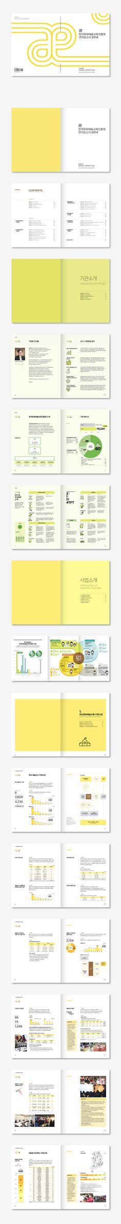 [한국문화예술교육진흥원] 연차보고서 2014 Magazine Layout Design, Book Design Layout, Print Layout, Art Design, Brochure Cover, Brochure Layout, Brochure Template, Yearbook Pages, Yearbook Layouts