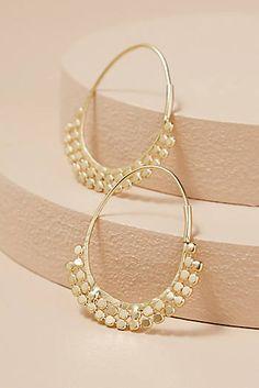 Cheyenne Coin Hoop Earrings
