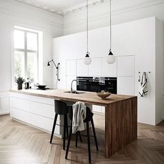 KITCHEN STYLEsimple sophisticated and oh so stylish!! That bench and that flooring #crushing   @comparethetradie . . . . . . . . #kitchendesign #kitchen #home #homestyle #homedesign #design #interiorstyling #interiordesign #luxurykitchen #lux #luxurylifestyle #luxury #style #scandinavian #interior #homedecor #simplicity #whiteliving #nordic #lessismore #minimalistic #whitehome #minimalove #keepitsimple #scandinaviandesign #minimalismo #simpleandpure #minimalista