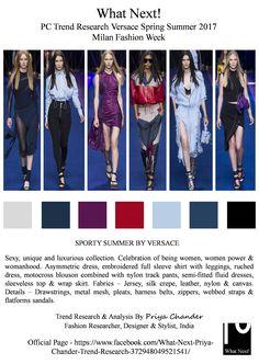 #Versace #fashion #SS17 #DonatellaVersace #MilanfashionWeek #MFW #Milan #sportswear #sportsfashion #fashionresearch #fashiontrends2017 #fashionista #runway #catwalk #tracksuit #metalmesh #priyachander #whatnextpcctrendresearch #VersaceSS17 #flatformsandals #supermodel #bellahadid #drawstrings #Versacewomen #dresses #fashionindustry #fashionblogger #fashioneditor #Athleticism #fashionblog #Versacefashion