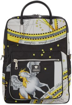 Versace  Multicolor Constellations Print Backpack  18eed679781d6