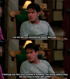 Two and a half men  Charlie <3