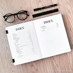 The Best Minimalist Bullet Journal Inspiration : You Need To See This! Bullet Journal Index Page, Bullet Journal Spreads, Bullet Journal Font, Journal Fonts, Bullet Journal Aesthetic, Bullet Journal Themes, Bullet Journal Inspiration, Bullet Journals, Bullet Journal Table Of Contents
