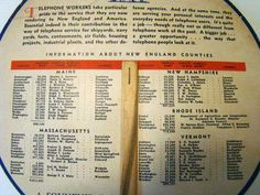 Telephone advertising fan vintage telephone by TheGayDivorcee