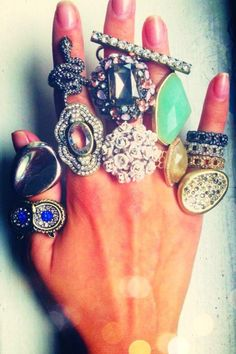 Ring Party #fashion #jewelry #gifts