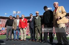 Starting offensive lineup for the West All-Star Pro Bowl team: Left. Professional Football, National Football League, San Francisco 49ers, Lineup, All Star, Galleries, Sons