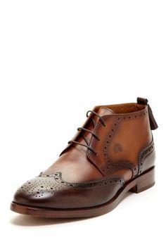GEOX Sammy Wingtip Shoe brown - coffee