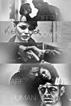"""Deep down. We are human."" - @AlexTheGhostBH"