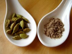Who knew? Cardamom great source of  Manganese; in tea can help stabilize blood sugars; improves blood flow-helps asthma and lungs.