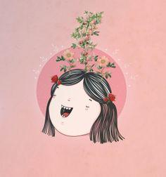 Las ideas by Juliana López , via Behance
