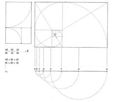 Golden Rule Architecture news: making art with the golden ratio | golden ratio, math crafts