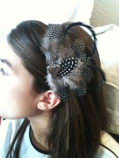 Fascinator Feather Headband by soccermom630 on Etsy, $15.00