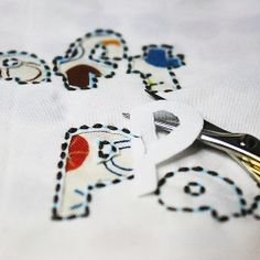 Tutorial on how to make reverse applique. Hope you will try it out....