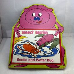 Board Book - Insect Stories - Beetle And Water Bug