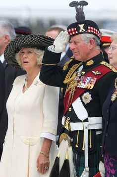 Camilla, Duchess of Cornwall, and Prince Charles, the Prince of Wales, 2011