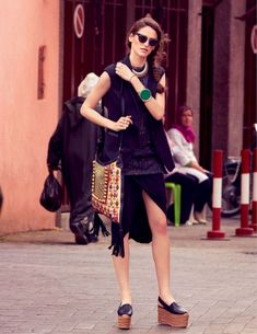 marrakech express: iuliia danko by bruno barbazan for gioia 2nd august 2014
