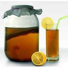 Waterkefir - Kefirplantje.eu Kombucha, Can Opener, Stuffed Mushrooms, Money, Water Kefir, Healthy Nutrition, Healthy Food, Sweet Tea, Mushrooms