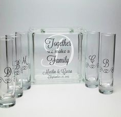 Combinado familiar ceremonia arena Set por TheDreamWeddingShop