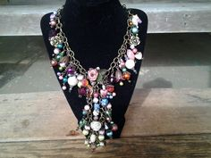 Another March Challege Kitchen Sink Necklace from the B'sue Boutiques Creative Group Challenge