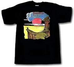 HAWKWIND Warrior on the Edge of Time 1 DELUXE ART CUSTOM HANDPAINTED T-SHIRT  *Please see details at http://www.collectorware.com.ar/tees-hawkwind.htm