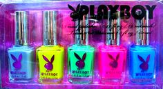 Find images and videos about nails, neon and nail polish on We Heart It - the app to get lost in what you love. Playboy Bunny, Playboy Playmates, Disney Magazine, Playboy Logo, Dream Nails, Color Club, Cool Nail Designs, Sally Hansen, Beauty Care