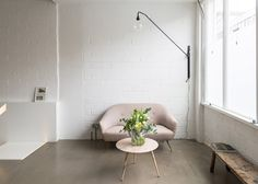 Sitting area. The Modern House's office by Assemble, photograph by French+Tye