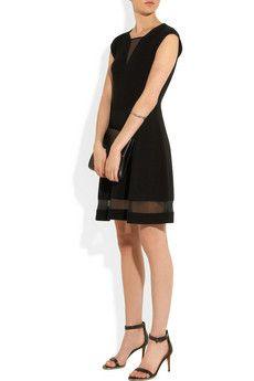 ThakoonRibbed-knit wool dress
