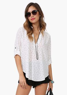 Summer Party Blouse//