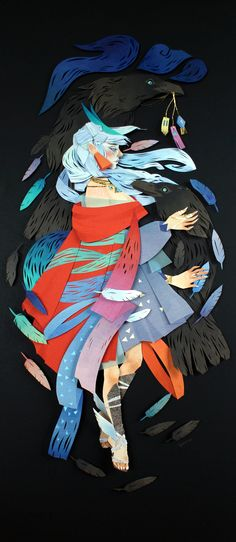 Morgana Wallace - Mythical Paper Artworks | Patternbank
