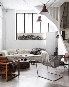 artistEma Pradère's ceramic studio in paris. / sfgirlbybay