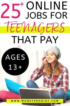 25+ Online Jobs for Teenagers that Pay (Starting at Age 13)