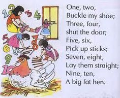 OMG!!!! Remember this rhyme.?????? childhood memori, shoe, onetwo buckl